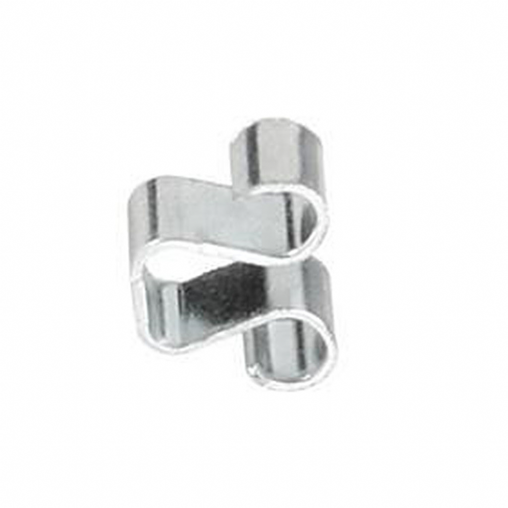 Silver Frameless Clip 3.8mm